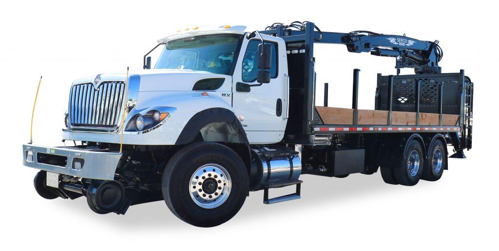 RailMark Material Handler truck