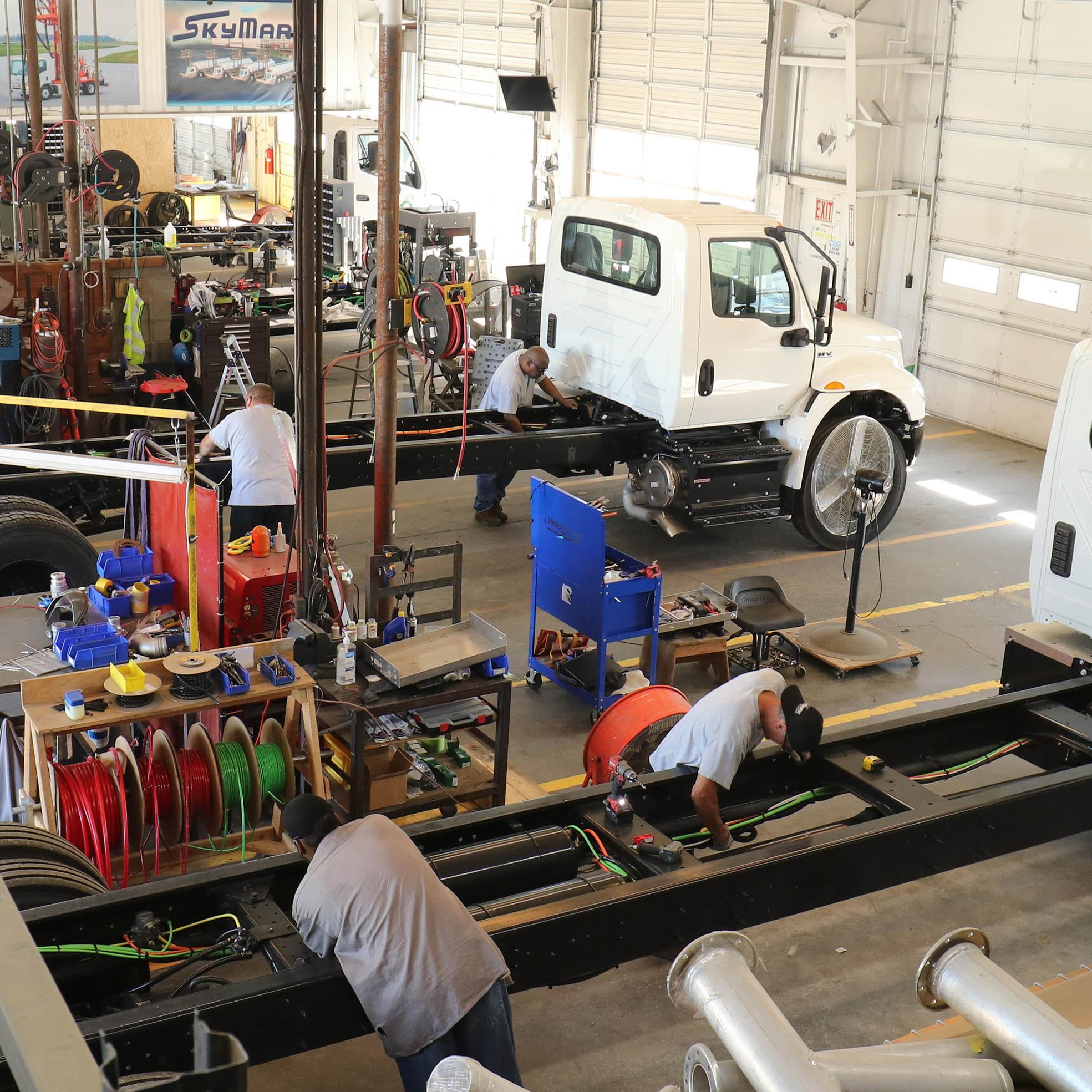 RailMark Trucks