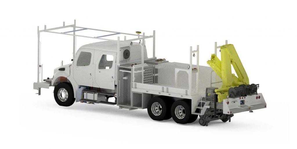 RailMark Tandem Axel Section Truck